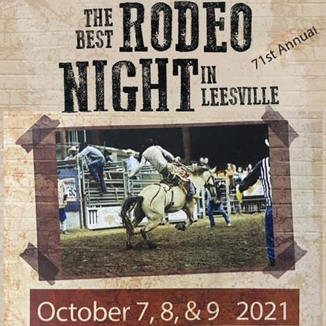Leesville Lion's Club Rodeo
