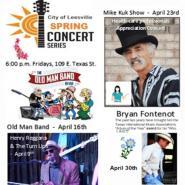 Leesville Spring Concert Series